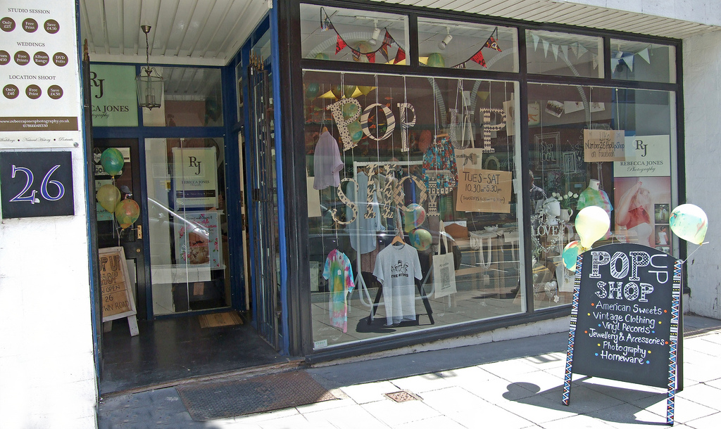 Insure your Pop Up Shop as they Boost the UK Retail Sector